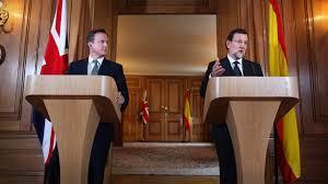 Rajoy i Cameron