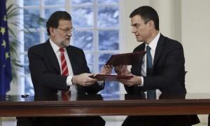Rajoy i Sánchez
