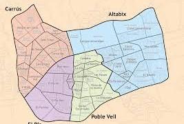 mapa d'elx