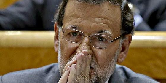 Rajoy derrotat