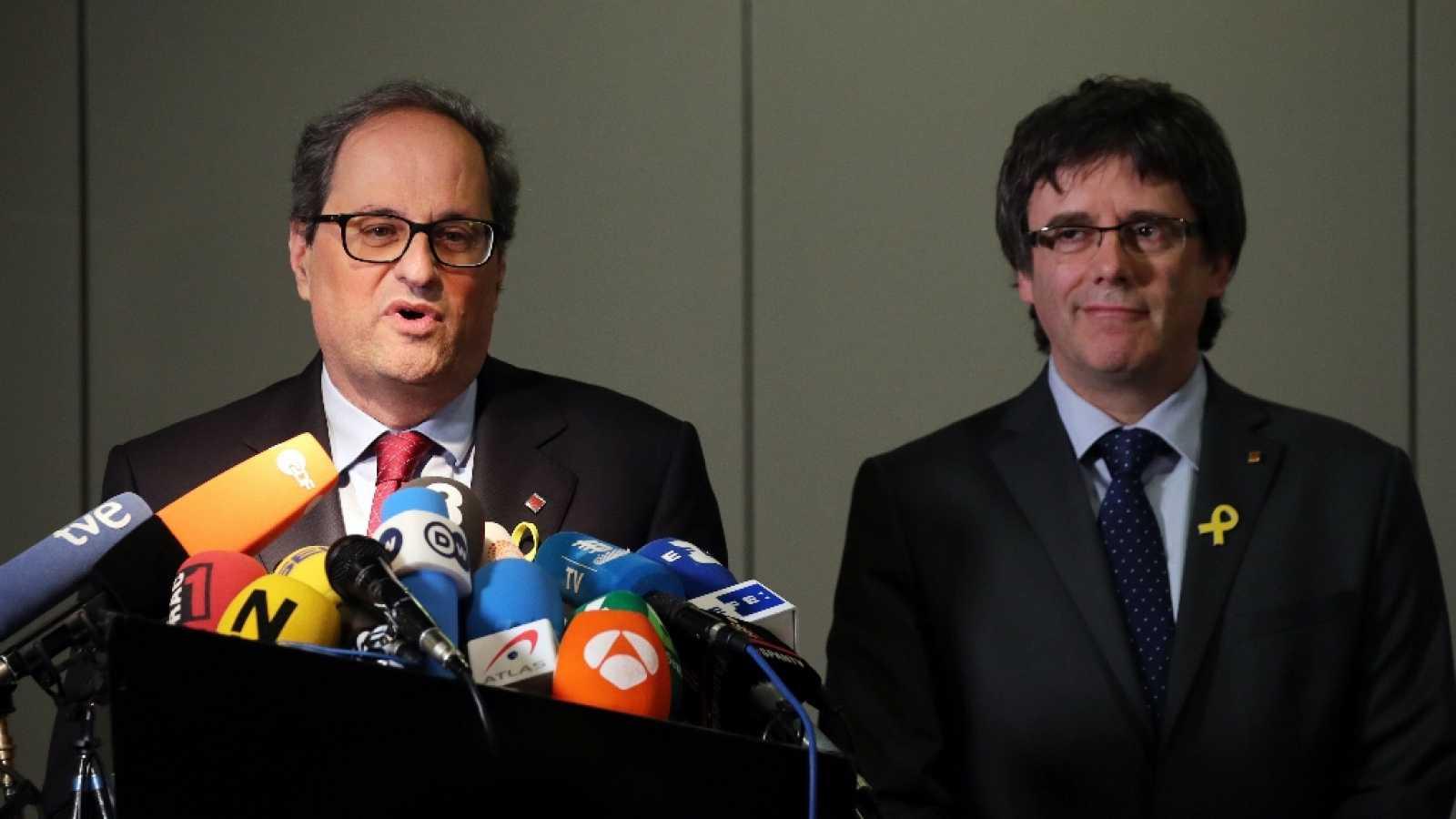 Torra i Puigdemont