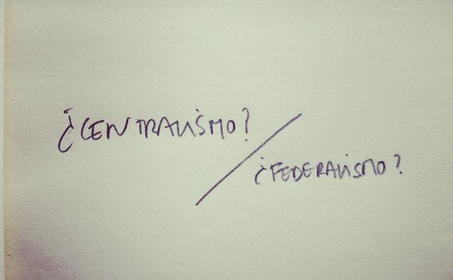 federalismocentralismo